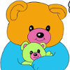 Friendly Bears Coloring - Coloring Games For Girls