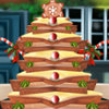 Gingerbread Christmas Tree - Free Food Decoration Games