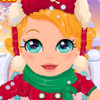 Baby's Snow Date - Baby Games For Girls