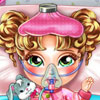 Baby Flu Doctor Care - Doctor Management Games