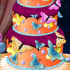 Butterfly Birthday Cake Decor - Cake Decoration Games