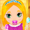 Rapunzel Baby Shower - Baby Care Games