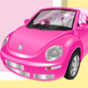 Clean My Pink Beetle - Clean Up Games