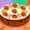 Chocolate Brownie Cake - Play Cooking Games For Girls