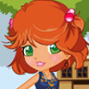 Girl And Her Cute Puppy - Girl Dress Up Games