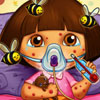 Dora Bee Sting Doctor - Free Doctor Simulation Games