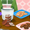 Milk And Cookies - Food Decoration Games Online
