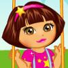 Dora Baby Caring - Baby Caring Games