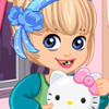 Hello Kitty Dental Crisis - New Dental Care Games