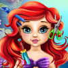 Baby Ariel Real Haircuts - Real Haircuts Games