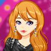 Leather Fashion Motifs - Dress Up Games For Girls