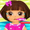 Dora Doctor Care  - Doctor Care Games