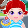 Kids Cupcake Bar - Food Serving Games