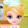 Baby Barbie's Cake - Barbie Cooking Games