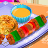 Chicken Kebab - Play Free Cooking Games