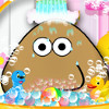 Pou Takes A Shower - Fun Management Games