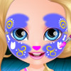 Baby Barbie Face Painting  - Baby Barbie Games