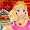 Barbie Burger Restaurant - Free Food Serving Games