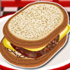 Cheesy Patty Melt  - Play Cooking Games