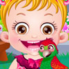 Baby Hazel Parrot Care - Fun Baby Hazel Games
