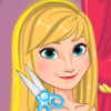 Anna Frozen Hair Spa - Frozen Makeover Games