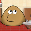 Pou Washing Dishes  - Online Simulation Games