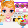 Baby Barbie Birthday Party - Barbie Management Games