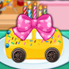 Make A Car Cake - Cake Cooking Games