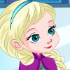 Baby Elsa Skating Injuries   - Online Simulation Games