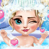 Elsa Baby Bath  - Baby Bathing Games