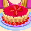 Strawberry Candy Cheesecake - Cheesecake Cooking Games