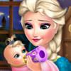 Elsa Frozen Baby Feeding - Online Baby Care Games