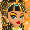 Cleo De Nile Hair And Facial - Online Monster High Makeover Games