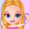 Baby Barbie Selfie Card - Baby Barbie Games