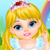 Baby Rapunzel Caring  - Online Baby Caring Games