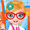 Baby Barbie School Haircuts  - Haircuts Games