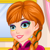 Frozen Anna Make-Up Look - Frozen Makeover Games