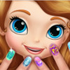 Sofia The First Nail Spa - Nail Polish Games