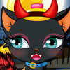 Cute Kitty Cat - Halloween Pet Dress Up Games