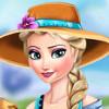 Elsa Ice Flower - Free Simulation Games