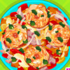 Fried Veg Chicken Salad - Fun Cooking Games