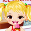 Baby Girl Loves Ice Cream - Baby Girl Dress Up Games