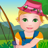 Baby Juliet Fishing - Fun Simulation Games