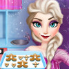 Elsa Cooking Gingerbread - Play Cooking Games