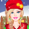 Barbie Winter Shopping - Barbie Dress Up Games