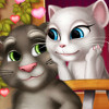 Tom And Angela Kissing - Kissing Games Online