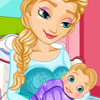 Frozen Elsa Gives Birth - Frozen Games For Girls