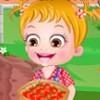 Baby Hazel Tomato Farming - Baby Hazel Simulation Games