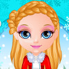 Baby Barbie Winter Braids - Baby Barbie Hair Games