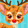 Injured Baby Rudolph - Barbie Pet Doctor Games